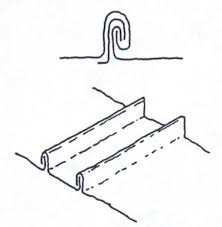 sketch of roof profile