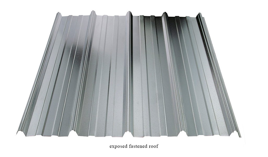 exposed fastened roof